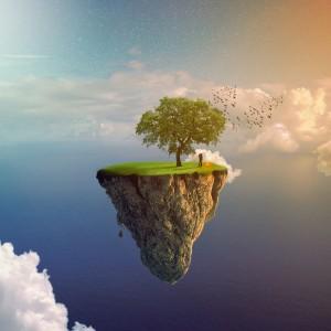 Flying mountain