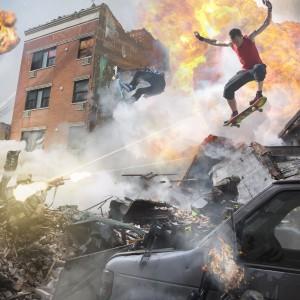 Skate Pursuit on Explosion in New York (Maks Francais & Aurélien Rebout) - FLooDS